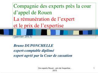 Bruno DUPONCHELLE expert-comptable diplômé expert agréé par la Cour de cassation
