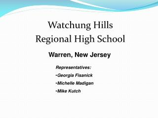Watchung Hills Regional High School