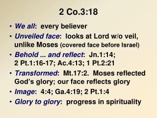 2 Co.3:18