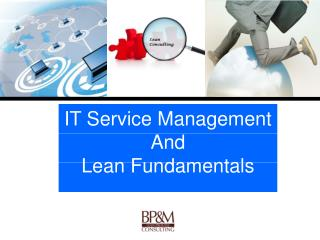 IT Service Management  And  Lean Fundamentals