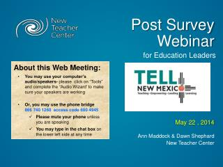 Post Survey Webinar