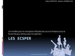 Les ECSPER