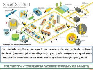 INTRODUCTION AUX RESEAUX DE GAZ INTELLIGENTS (SMART GAS GRID)