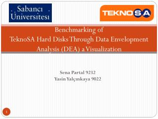 Benchmarking of  TeknoSA  Hard  Disks Through Data Envelopment Analysis ( DEA )  a  Visualization