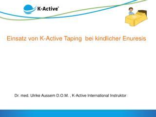 Einsatz von K-Active  Taping   bei kindlicher  Enuresis