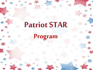 Patriot STAR Program