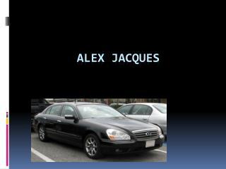 Alex jacques