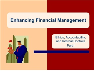 Enhancing Financial Management