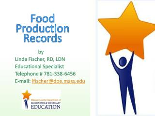 Food  Production  Records