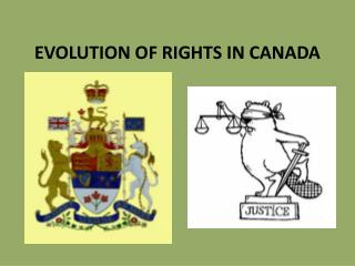 EVOLUTION OF RIGHTS IN CANADA