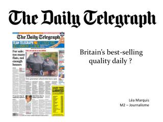 Britain's  best- selling quality daily  ?