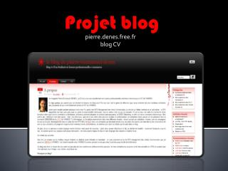 Projet blog