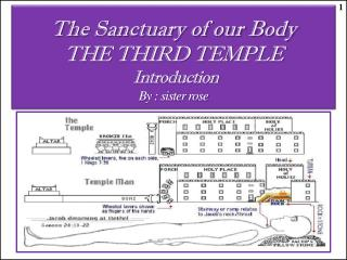 The Sanctuary of our Body THE THIRD TEMPLE  Introduction By : sister rose