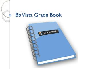Bb Vista Grade Book