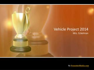 Vehicle Project 2014