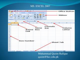 Muhammad  Qasim Rafique qasim@hcc.edu.pk