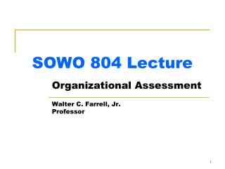 SOWO 804 Lecture