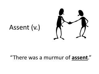 Assent (v.)