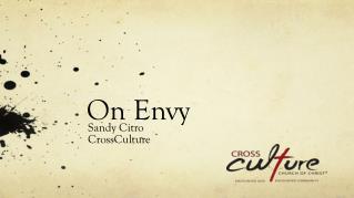 On Envy