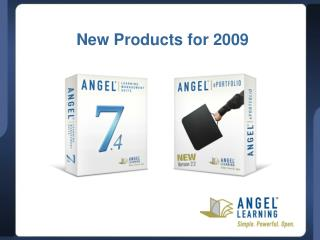 New Products for 2009