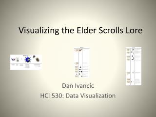 Visualizing the Elder Scrolls Lore