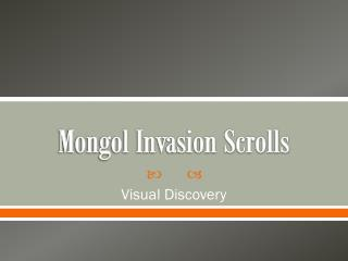 Mongol Invasion Scrolls