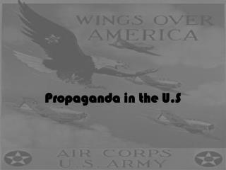 Propaganda in the U.S