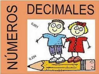 Suma y resta de decimales