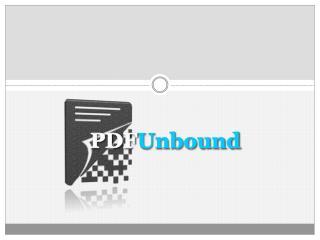 PDF Unbound