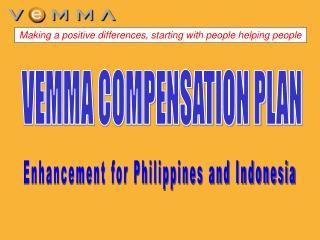 VEMMA COMPENSATION PLAN