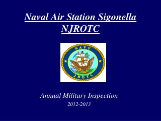 Naval Air Station  Sigonella NJROTC