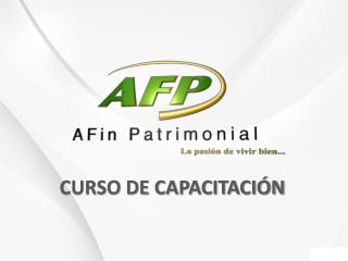 CURSO DE CAPACITACI�N