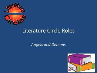 Literature Circle Roles