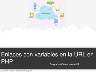 Enlaces con variables en la URL en PHP