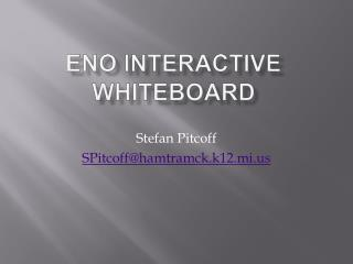 Eno  Interactive Whiteboard