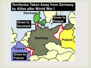 Impact of WW1 on Germany