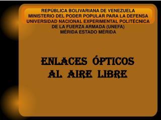 REPÚBLICA BOLIVARIANA DE VENEZUELA MINISTERIO DEL PODER POPULAR PARA LA DEFENSA
