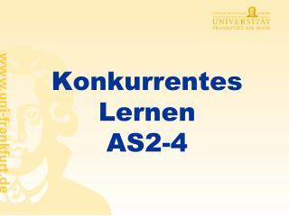 Konkurrentes  Lernen AS2-4