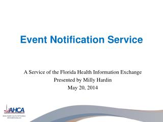 Event Notification Service