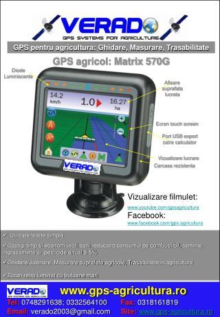 Masurare suprafata: GPS agricultura: GPS Carto