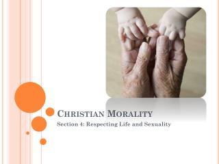 Christian Morality