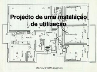 Projecto de uma instalação de utilização