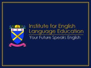 Institute for English Language Education