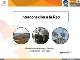 Interconexión a la Red