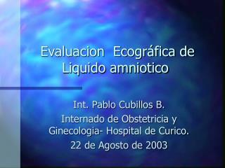 Evaluacion Ecogr