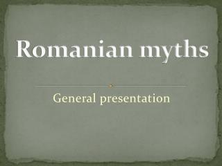 Romanian myths