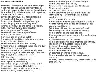 billy collins 9