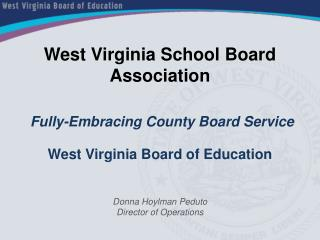West Virginia School Board Association
