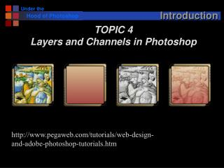 Using Photoshop Layers and Channels