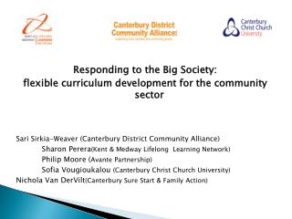 Responding to the Big Society:  flexible curriculum development for the community sector